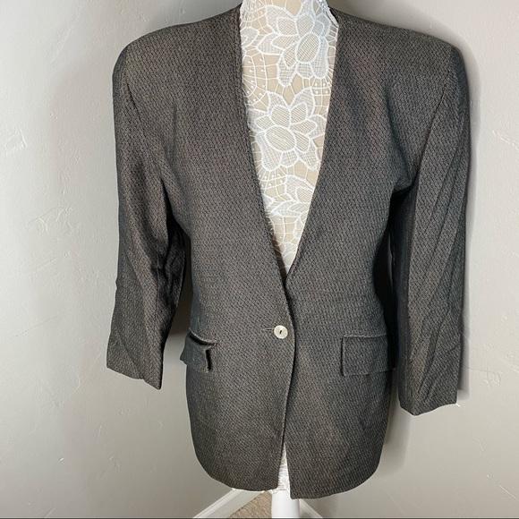 CHRISTIAN DIOR || vintage the suit blazer jacket